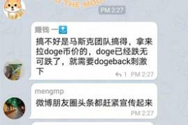 狗背Doge Back币圈项目电报群拉人案例